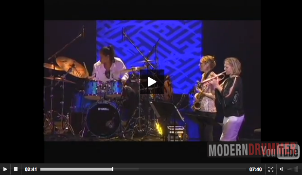 "Terri Lyne Carrington Performs ""Mosaic Triad"" at the Tokyo Jazz Festival"