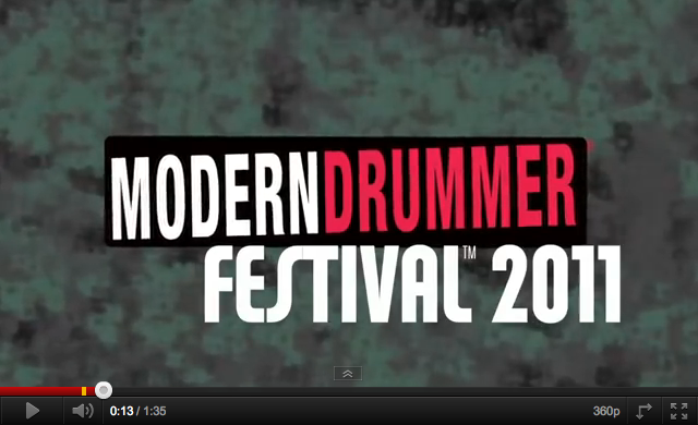 Modern Drummer Festival 2011 screen shot