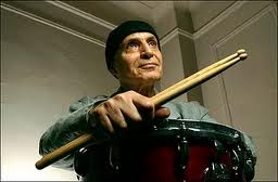 Jazz Great Paul Motian at the drums