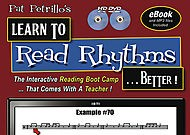 <b>Learn To Read Rhythms...Better!by Pat Petrillo</b>