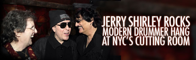 Jerry Shirley Rocks Hang at NYC's Cutting Room