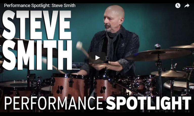 Steve Smith Solo Dedicated to Vic Firth (Video)