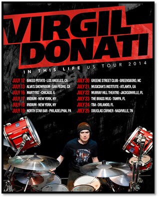 "<b>Virgil Donati Announces ""In This Life"" US Tour</b>"