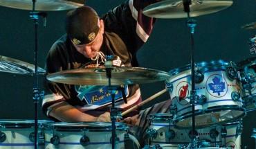 Step Behind Drummer Neil Peart's DW Drumkit