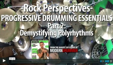 VIDEO LESSON! Progressive Drumming Essentials, Part 2: Demystifying Polyrhythms