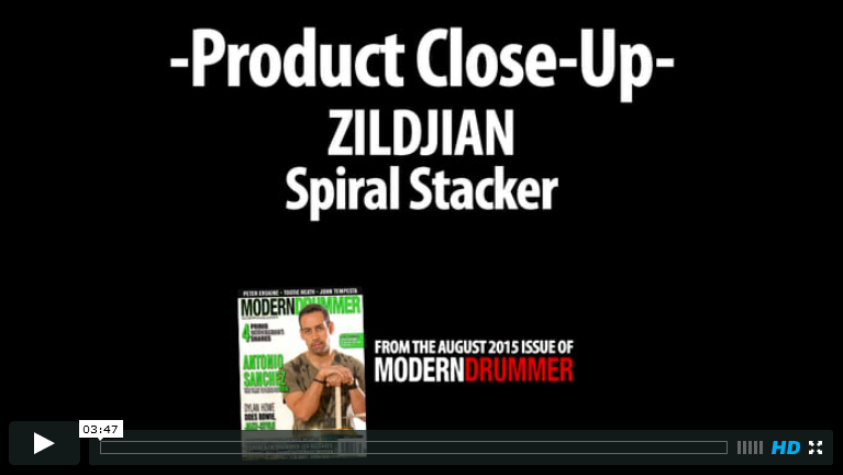 Zildjian FX Series Spiral Stacker