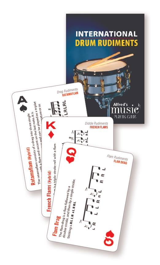 Drummer and Educator Dave Black PLaying Cards