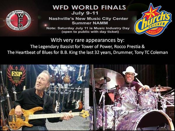 News: Rock and Roll Drumming Legends Honored at Summer NAMM