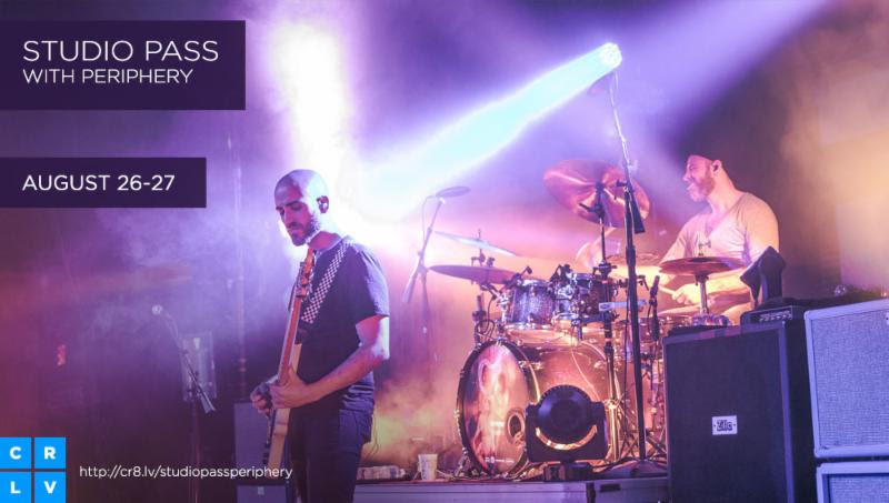 """News: Periphery Drummer and Bassist to Host Creativelive.com """"Studio Pass"""" Workshop on August 26 and 27"""