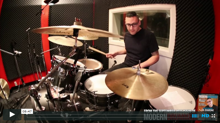 Video: Watch Gil Sharone Demonstrate Marilyn Manson and Team Sleep Drum Parts