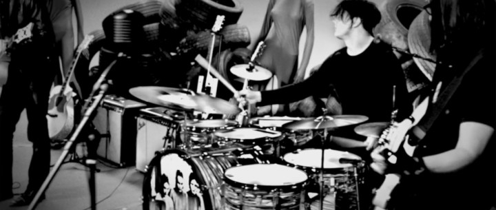 Exclusive Video Premiere! Jack White: Dead Weather Drumming