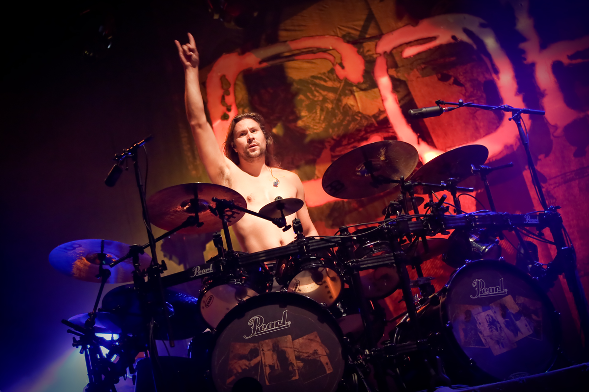Jaska Raatikainen of Children of Bodom