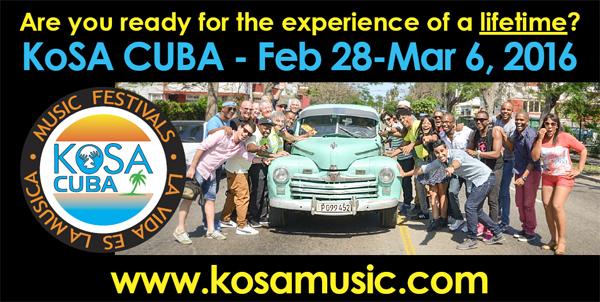 KoSA Cuba Camp and Festival