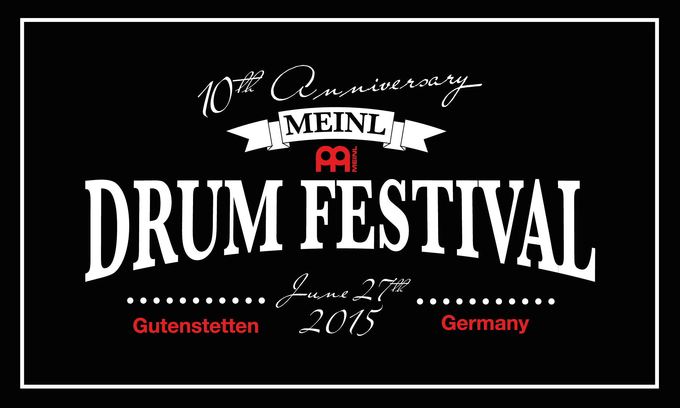 Meinl Drum Festival Donates to Charitable Purposes