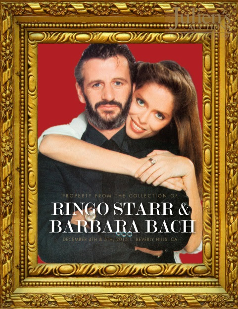 Julien's Auctions Announces Ringo Starr and Barbara Bach Property Auction