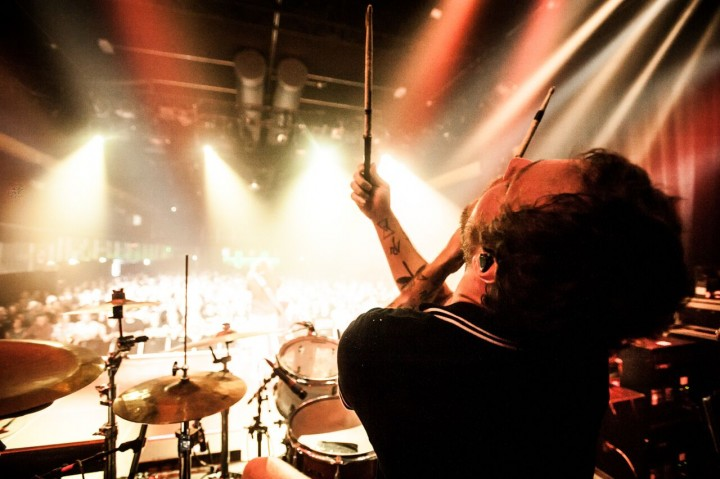 Josh Eppard of Coheed and Cambria
