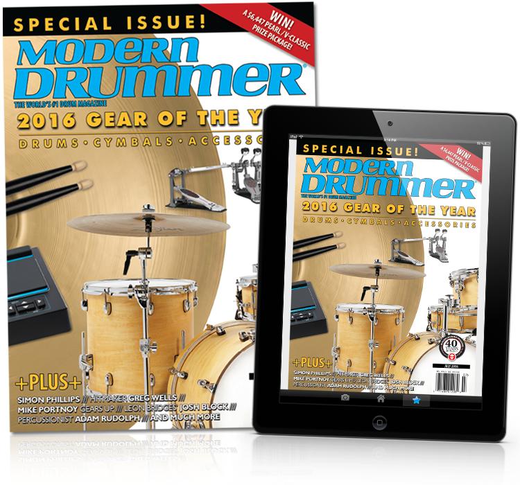 Subscribe to Modern Drummer magazine