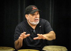 Prior to his performance at the Lied Center for Performing Arts in Lincoln, Nebraska earlier this month, Latin-jazz great Poncho Sanchez and Francisco Torres (trombonist/musical director in Sanchez's band) led a lecture/demonstration with percussion students from the University of Nebraska-Lincoln....