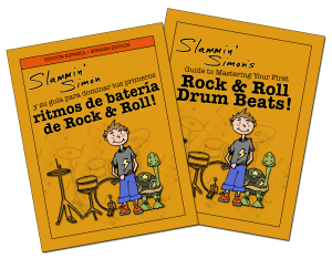 Slammin Simon books - ENGLISH AND SPANISH