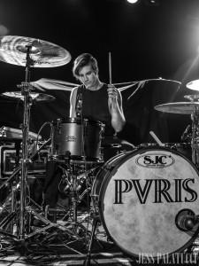 Justin Nace of PVRIS