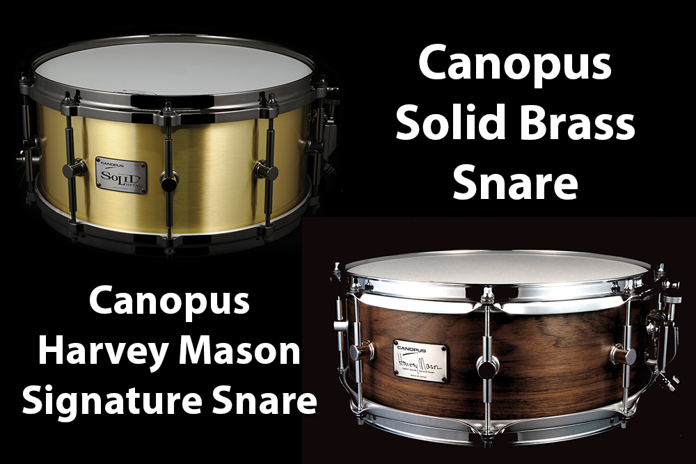 Video Demo! Canopus - Solid Brass and Harvey Mason Signature Snares