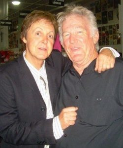 Paul McCartney and Denny Seiwell