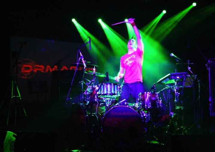 Charlie Z Drumageddon Cyborg Drummer/DJ