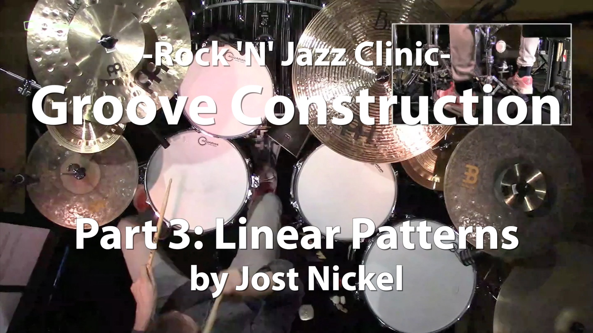 Video Lesson! Groove Construction, Part 3: Linear Patterns with Jost Nickel