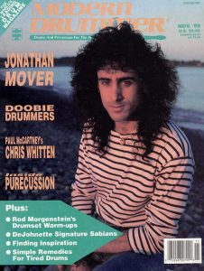 Jonathan Mover Drummer | Modern Drummer Archive