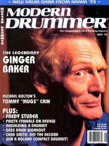 Ginger Baker Drummer | Modern Drummer Archive