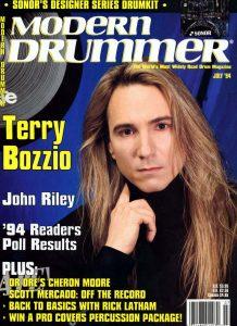 Terry Bozzio Drummer | Modern Drummer Archive