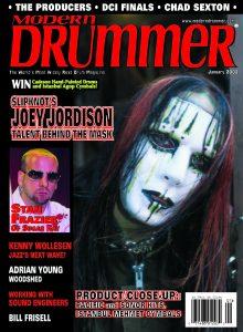Joey Jordison Drummer | Modern Drummer Archive