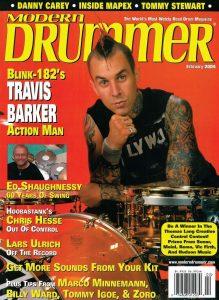 Travis Barker Drummer | Modern Drummer Archive