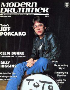 Jeff Porcaro Drummer | Modern Drummer Archive