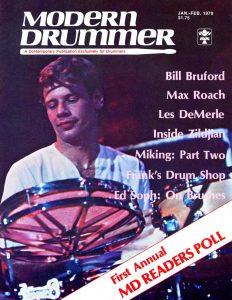 Bill Bruford Drummer | Modern Drummer Archive