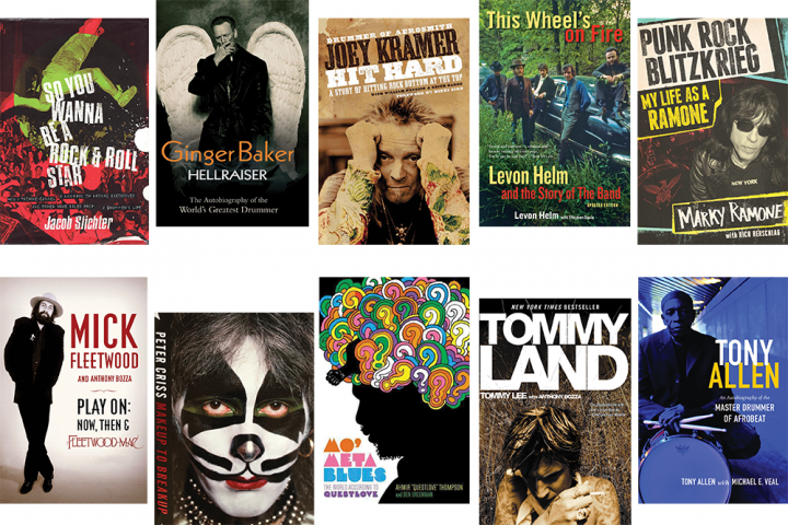 Ten Essential Drummer Autobiographies