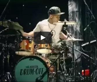 Guitar Center drum-off