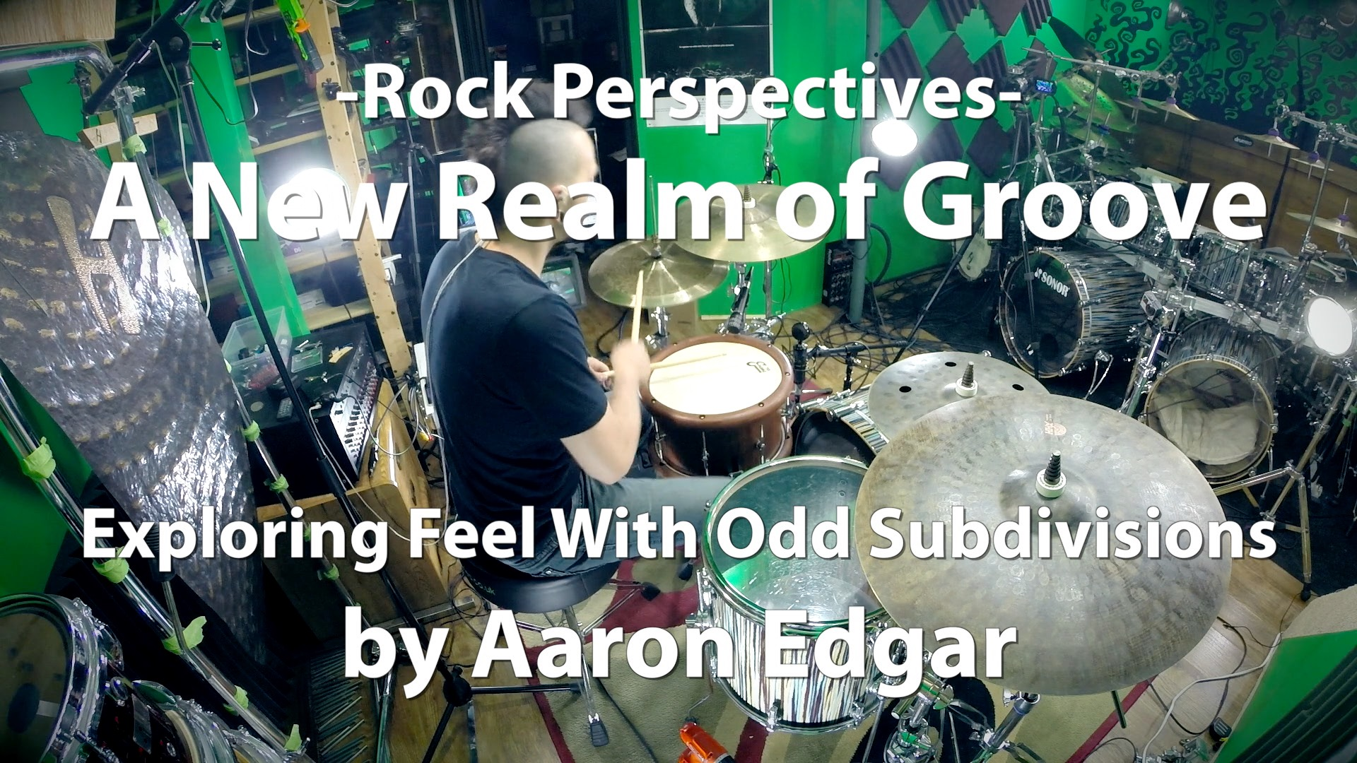 Video Lesson! A New Realm of Groove with Aaron Edgar