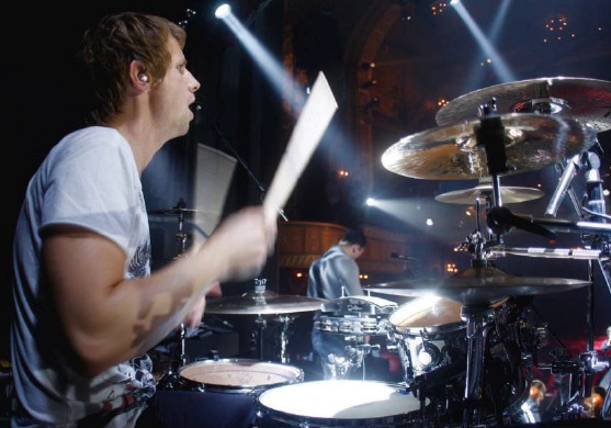 Muses Dominic Howard  On Tour  On Stage Making It Work On The