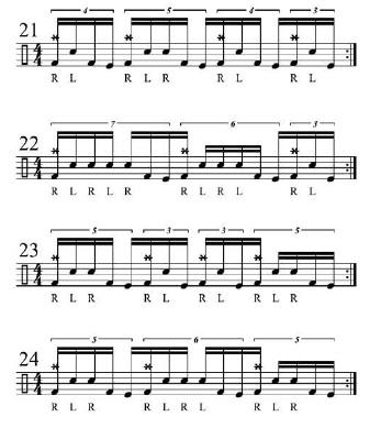 Double Bass Fills 8