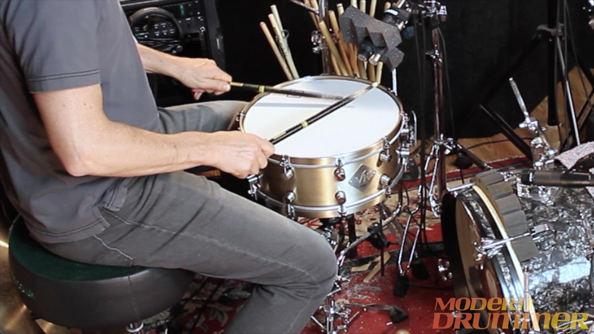 Video Demo! Van Kleef - All Titanium and B20 Bronze Snares