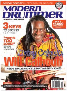 Will Calhoun Drummer | Modern Drummer Archive