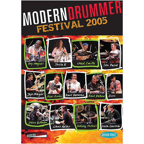 2005 Modern Drummer Festival Weekend DVD Set