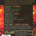 2005 Modern Drummer Festival Weekend DVD Set Back Cover