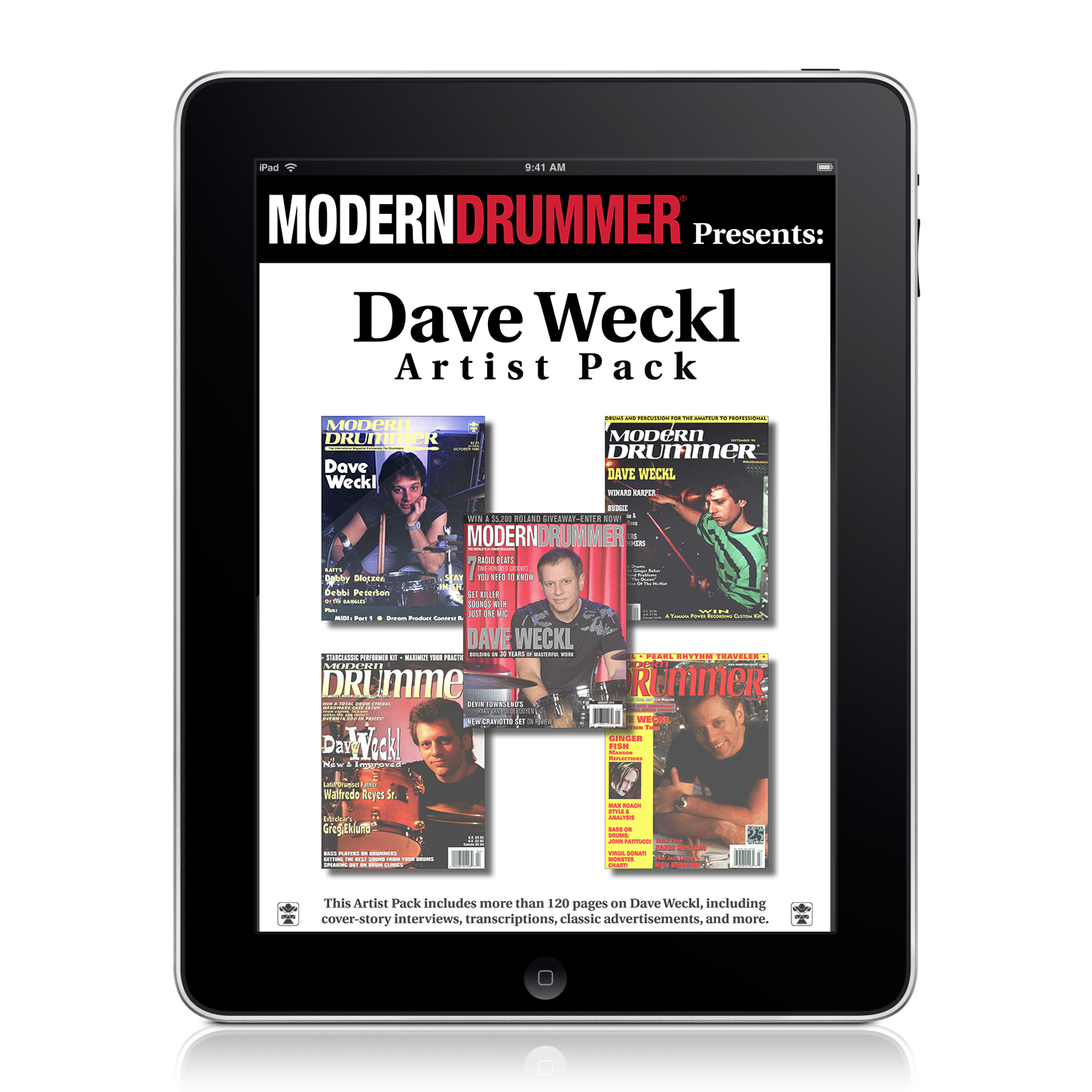 Dave Weckl Artist Pack (Digital)
