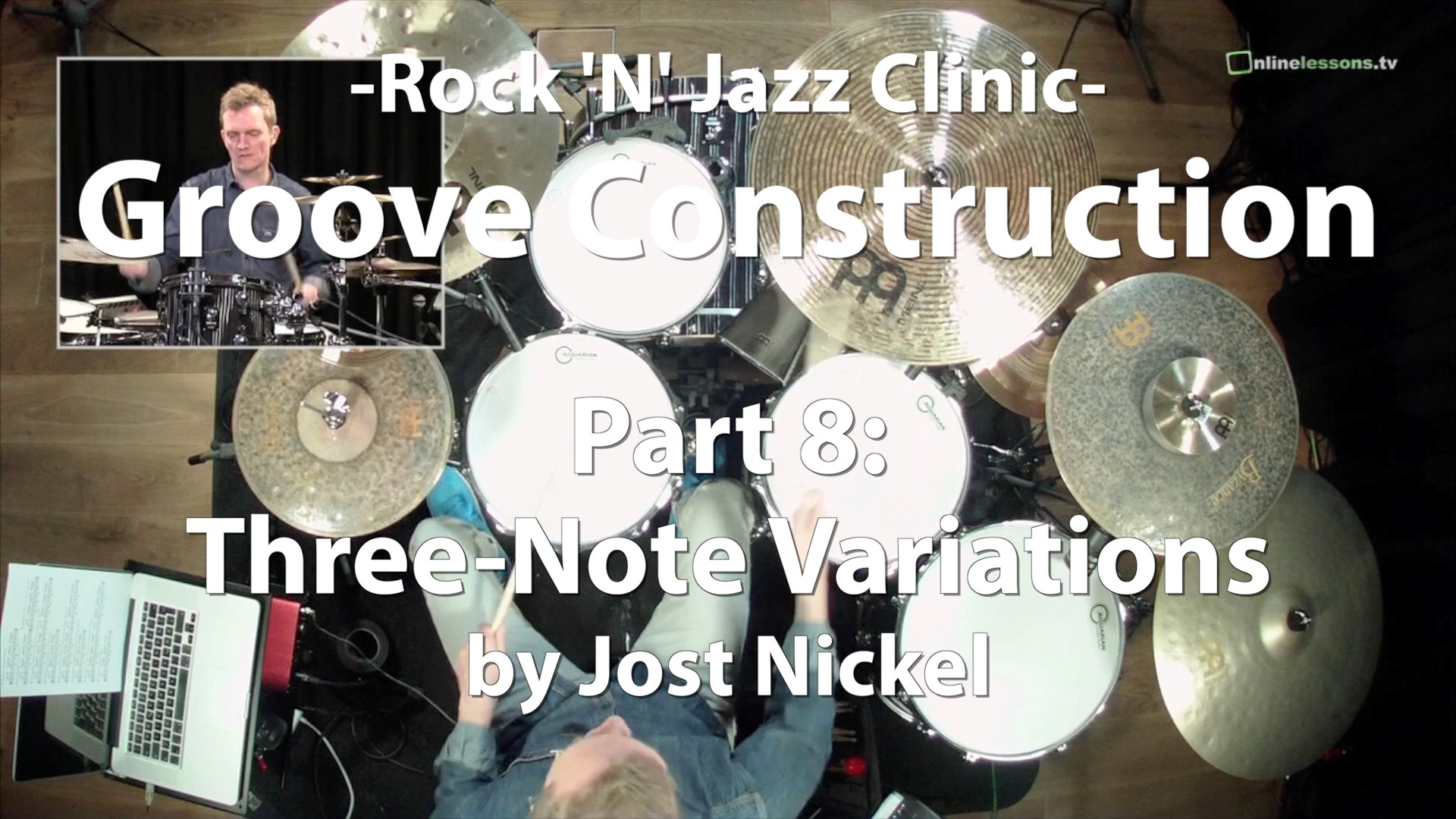 Video Lesson! Groove Construction, Part 8: Three-Note Variations with Jost Nickel