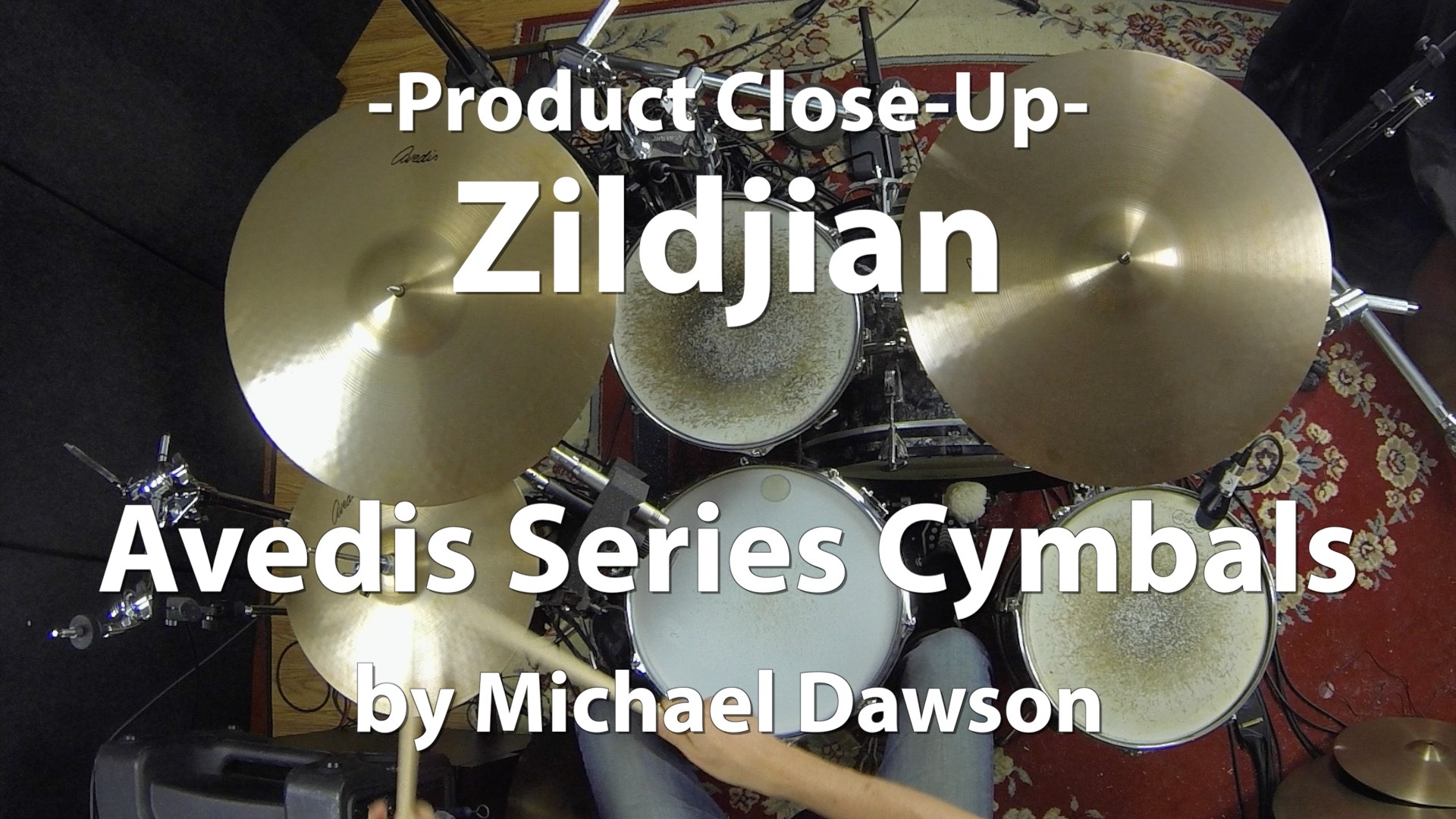 Video Demo! Zildjian - Avedis Series Cymbals