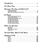 The Big Band Drummer Digital Book Table of Contents