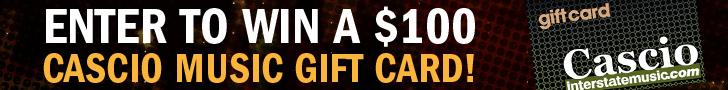 Cascio $100 Gift Card