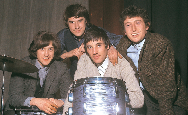 The Kinks, 1965: Dave Davies, Ray Davies, Mick Avory, Pete Quaife